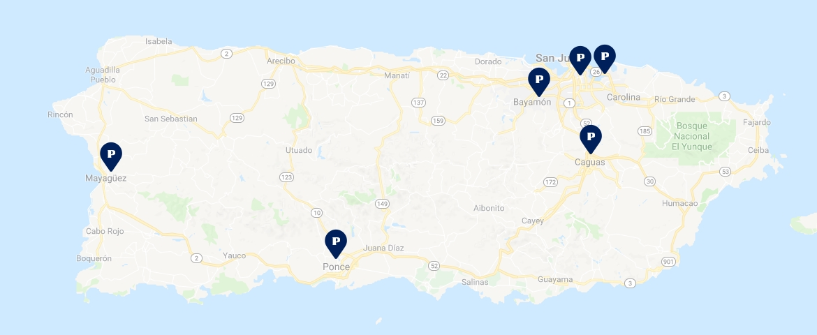Our Rental Locations in Puerto Rico