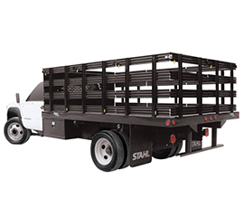 Stakebed truck 14